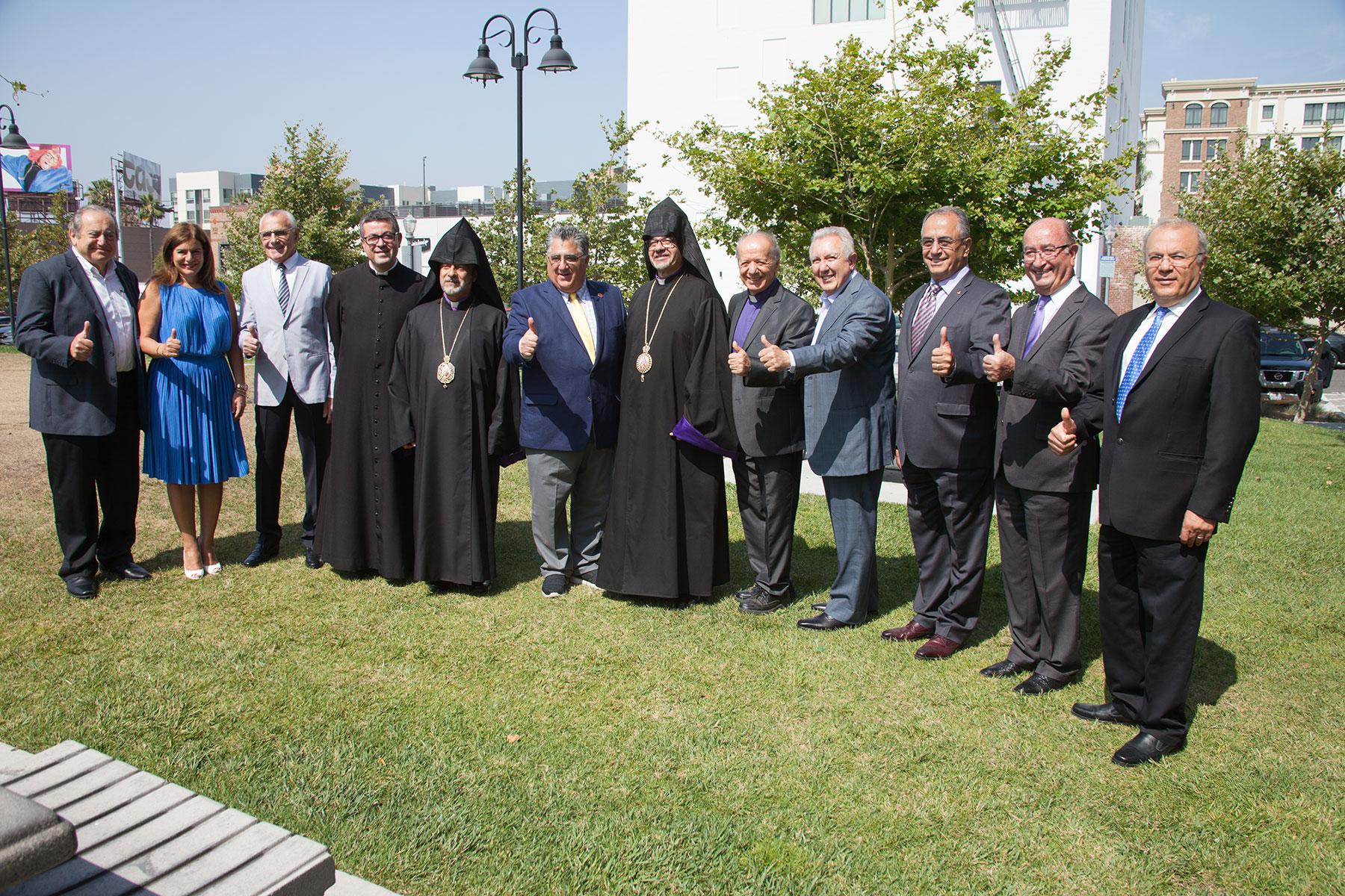 Armenian American Museum Governing Board & State Senator Anthony Portantino