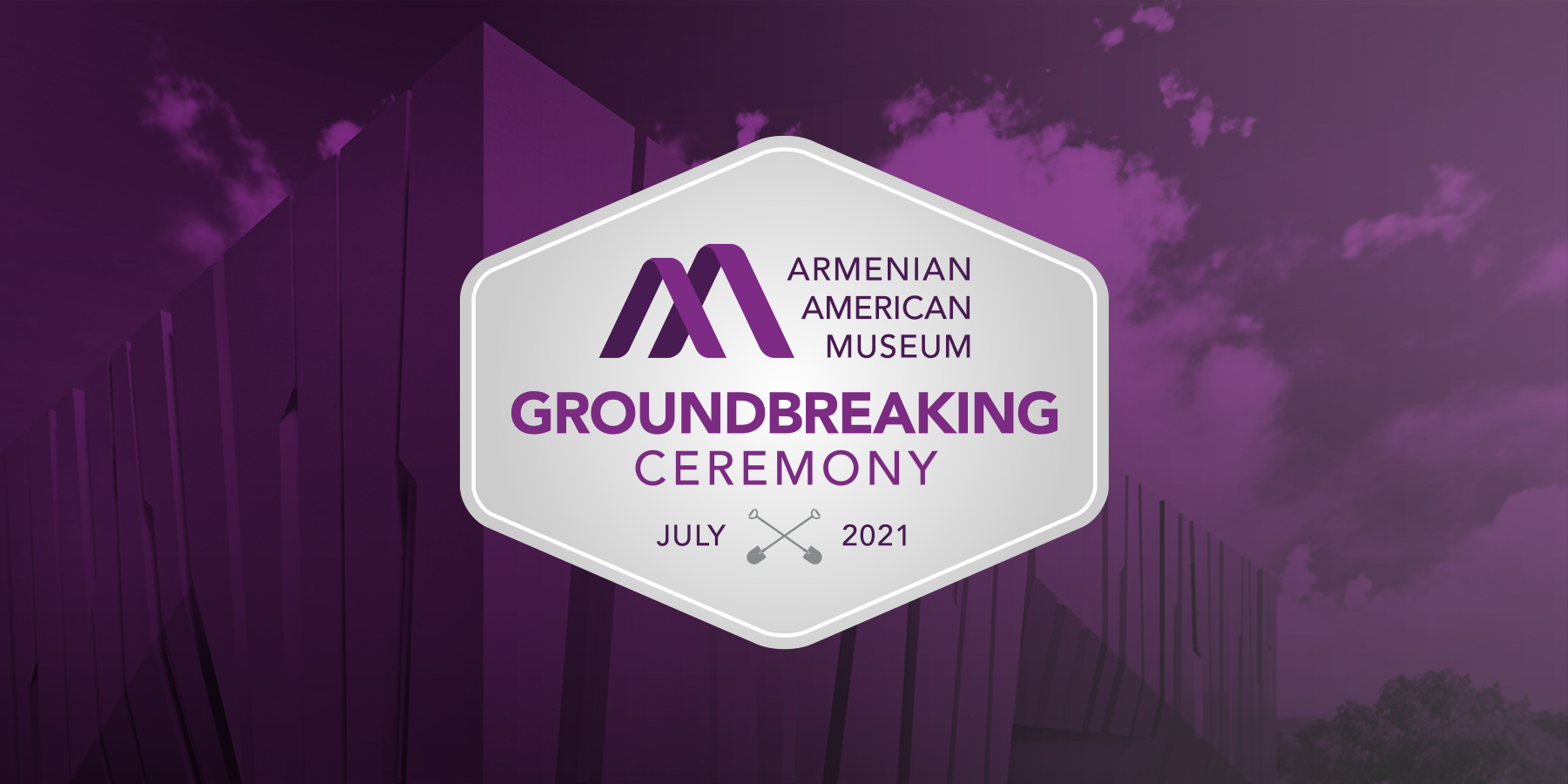 Armenian American Museum Groundbreaking Ceremony Announcement Graphic
