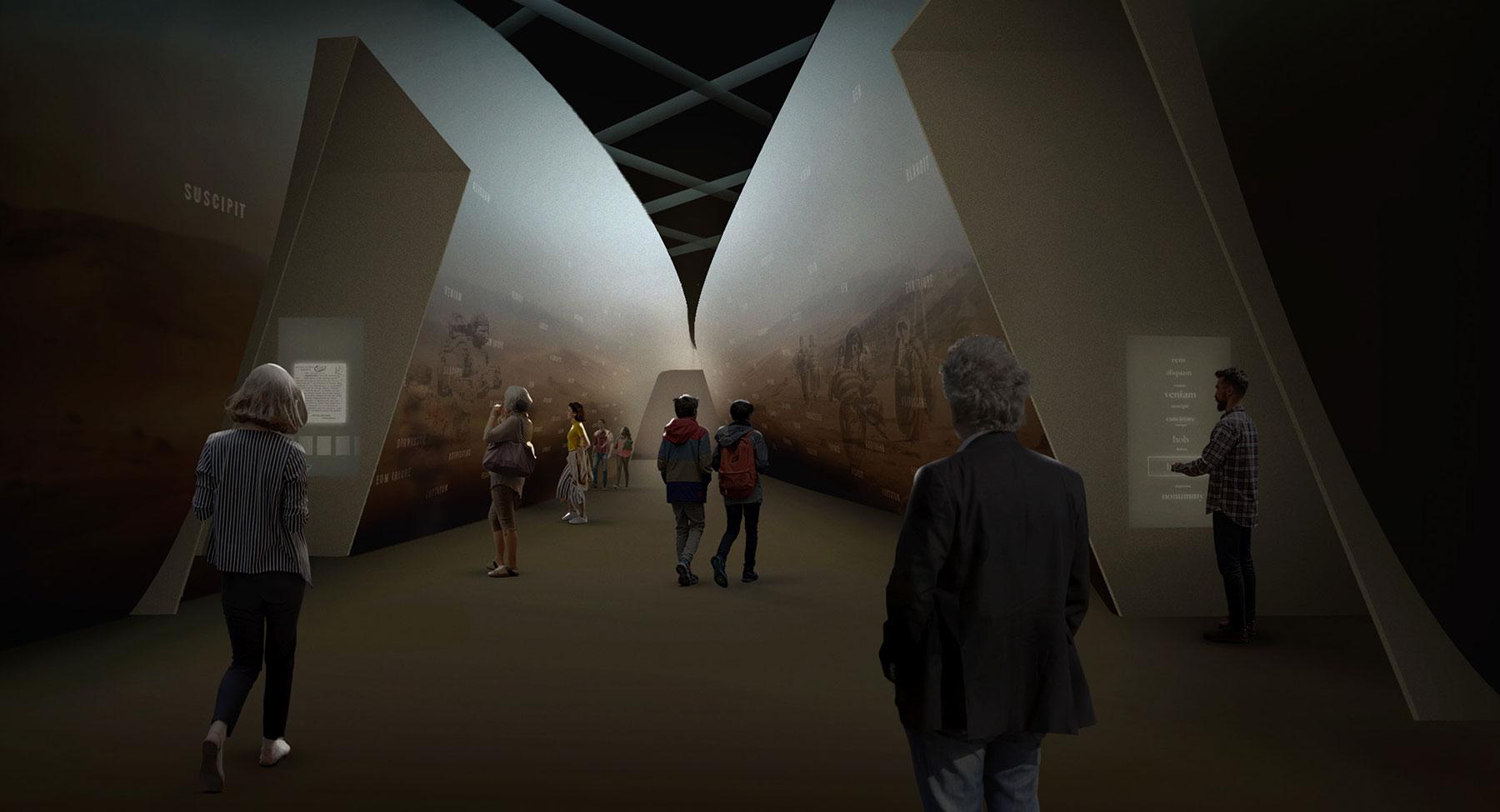 Armenian American Museum Permanent Exhibition Master Plan Conceptual Design 1