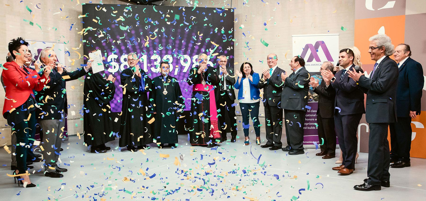 Armenian American Museum Telethon Finale Announcing $8.1 Million