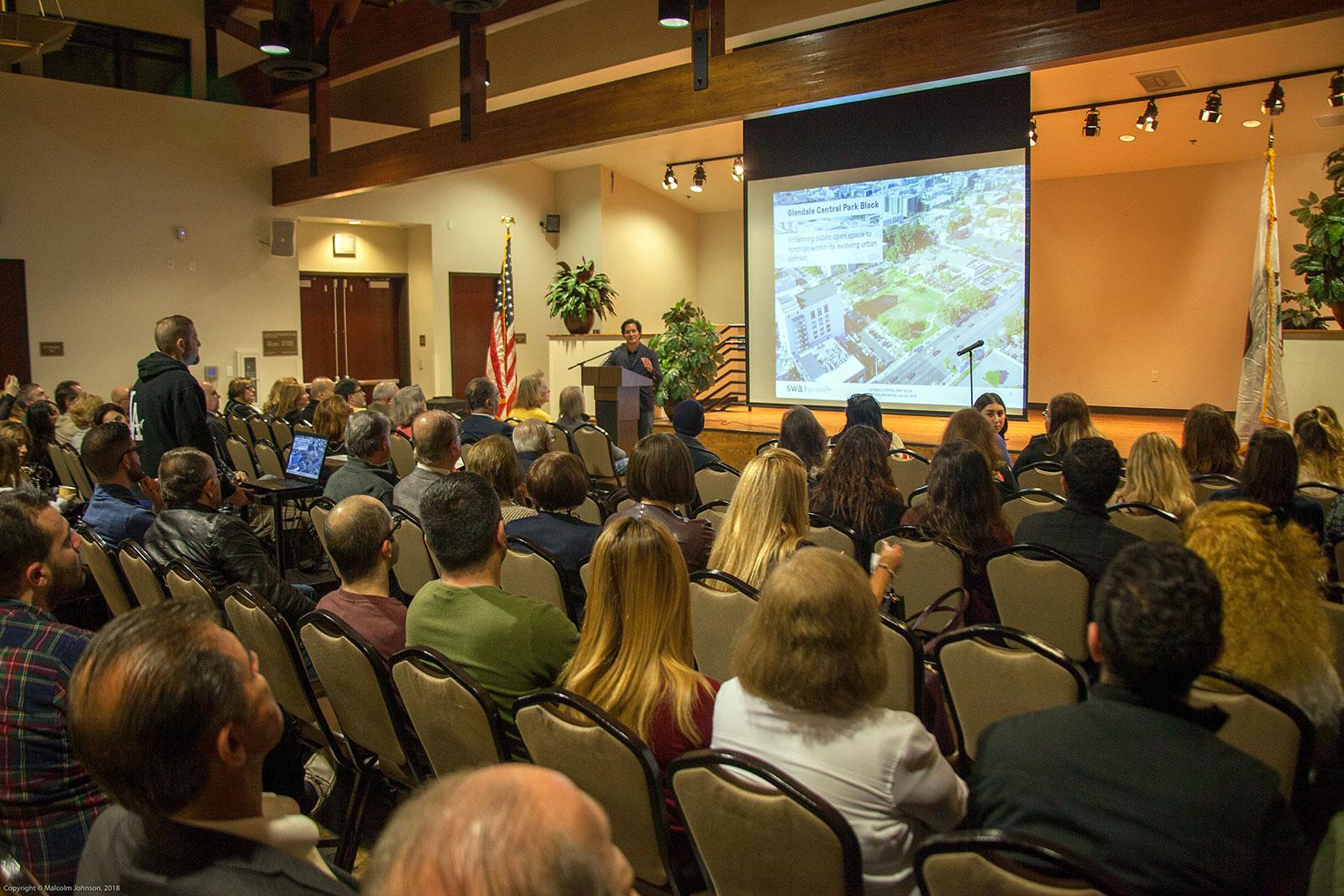 Glendale Central Park Community Meeting Jan 18