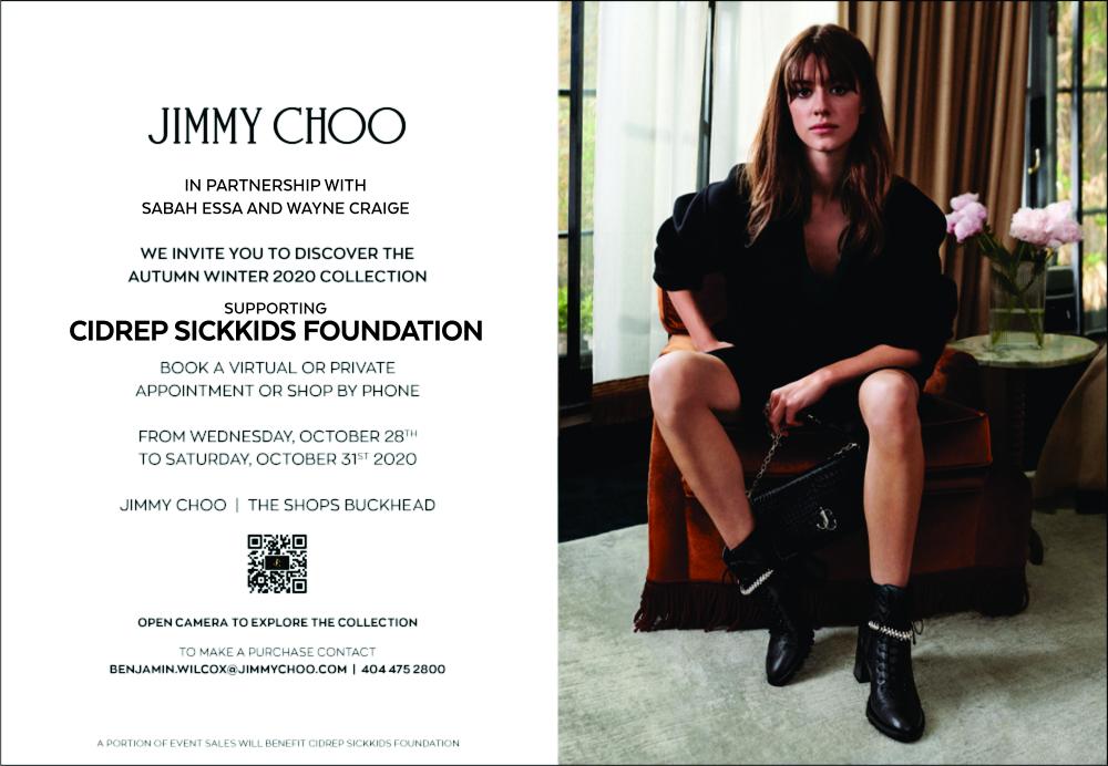 Jimmy Choo and CiDrep SickkIds Foundation Event