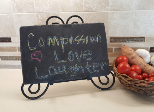 Compassion Love Laughter