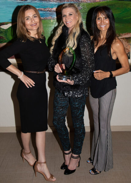 Rhonda Ramirez, Annmarie Lynn, and Vee Hercog or Bikram Yoga Plus