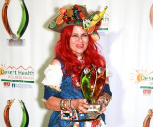 The Individual award went to children's author and educator Alexa Palmer.