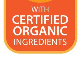 certified organic ingredients