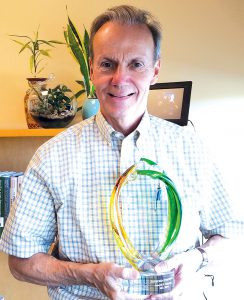 Joe Scherger, MD, took home the Integrated Health Care Practitioner award.