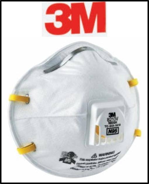 3M N95 Particulate Respirators
