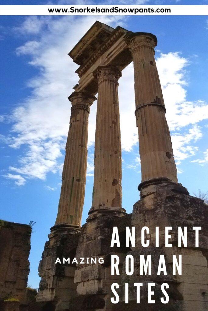 Ancient Roman Sites in Rome