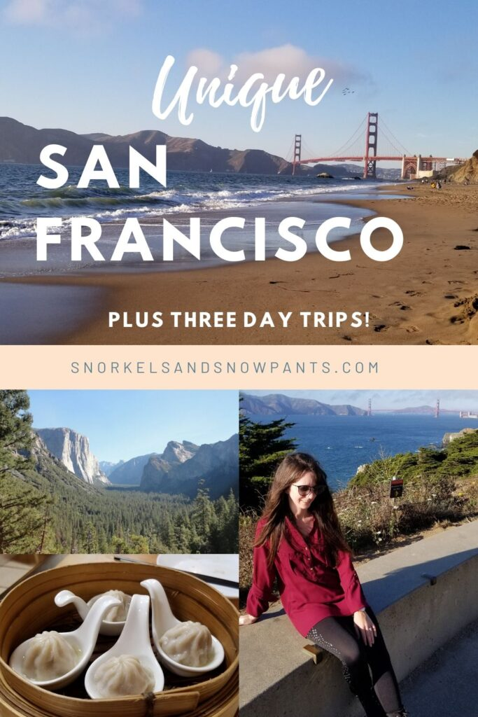 Unique San Francisco adventures, plus three day trips from the city!