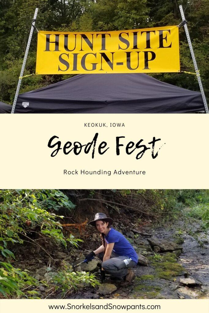 Geode Fest in Keokuk Iowa