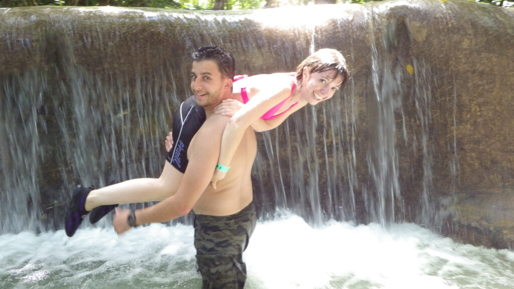 silliness in waterfall