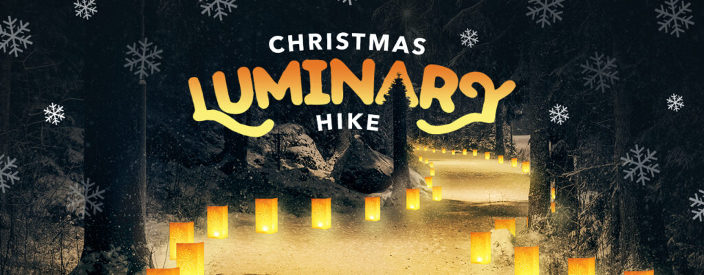 Socially Distanced Christmas Activities in Chicagoland- Luminary Hike