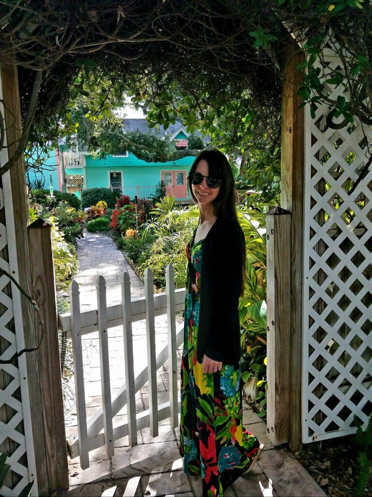 Cedar Key Bed and Breakfast Garden
