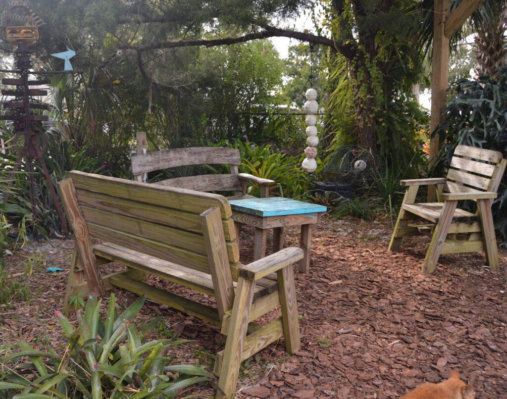 Community Garden Living Room