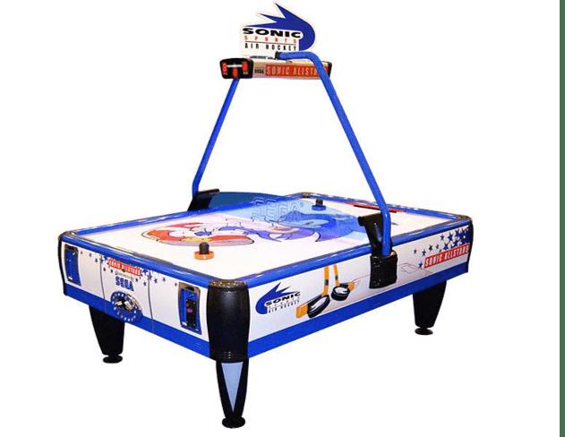 Sonic Air Hockey Allstars