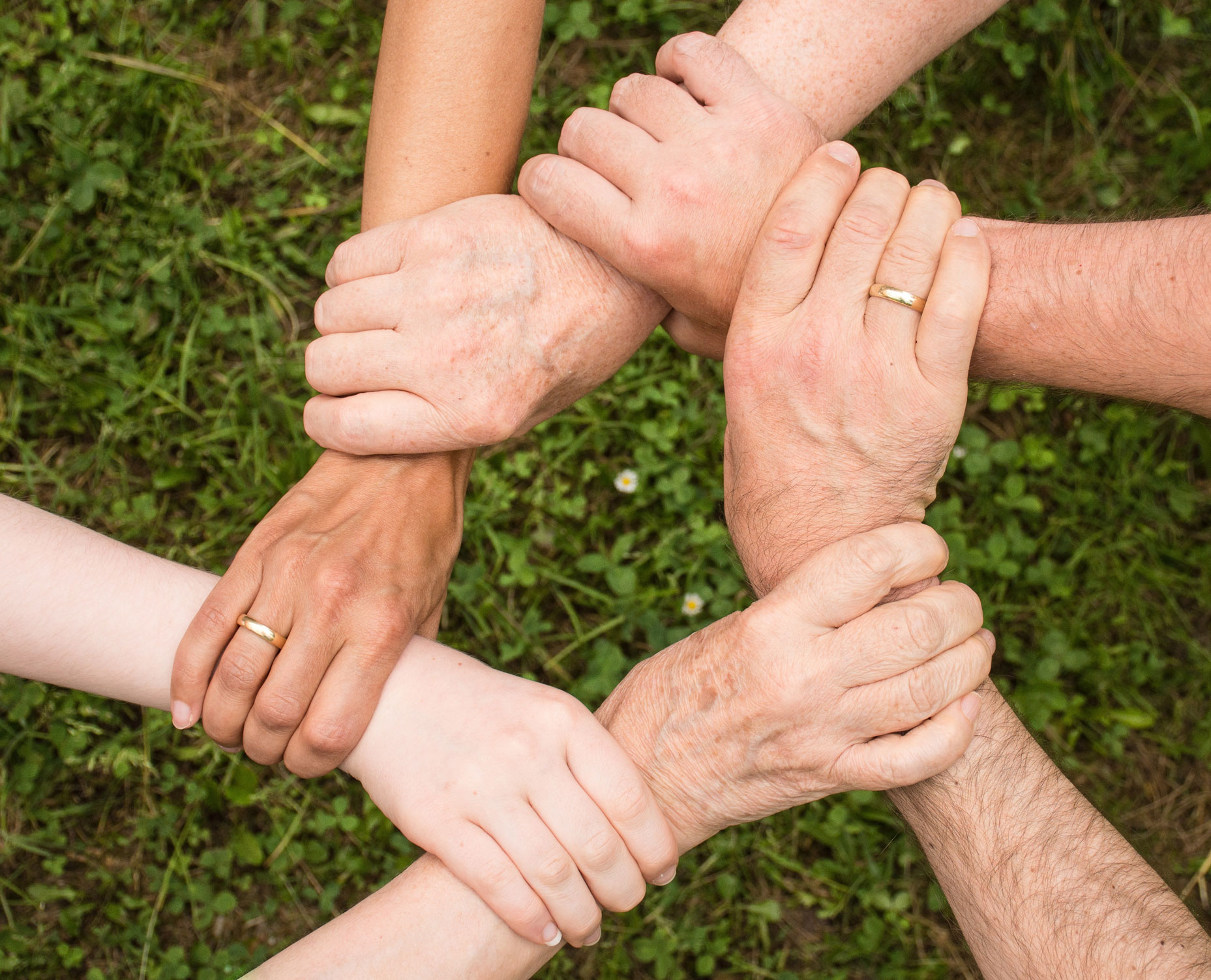 image-of-community-support-holding-hands-for-mental-health-chain