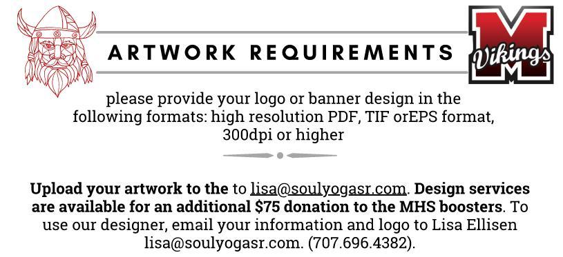 Artwork Requirement
