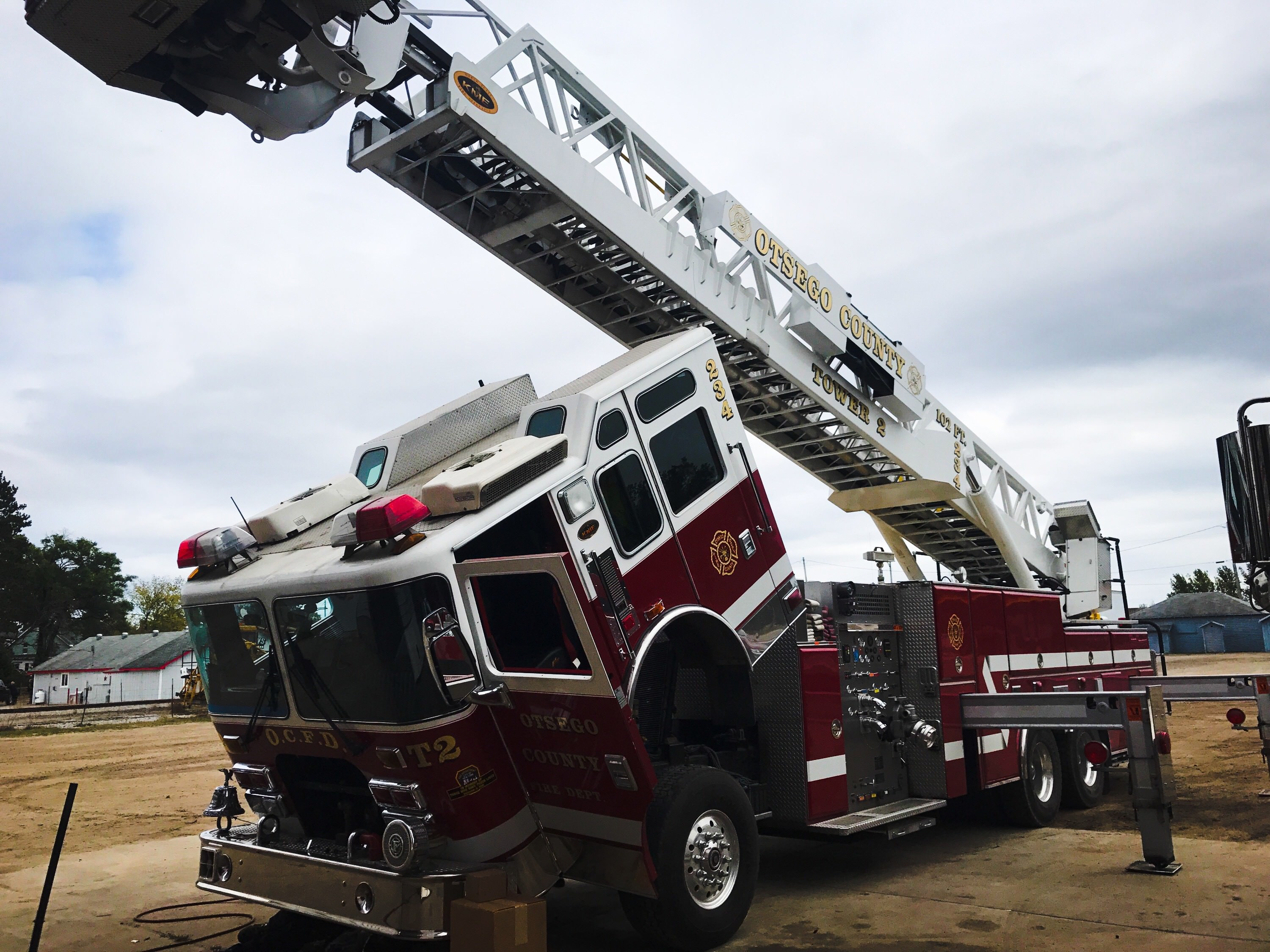 fire truck repair and service northern michigan