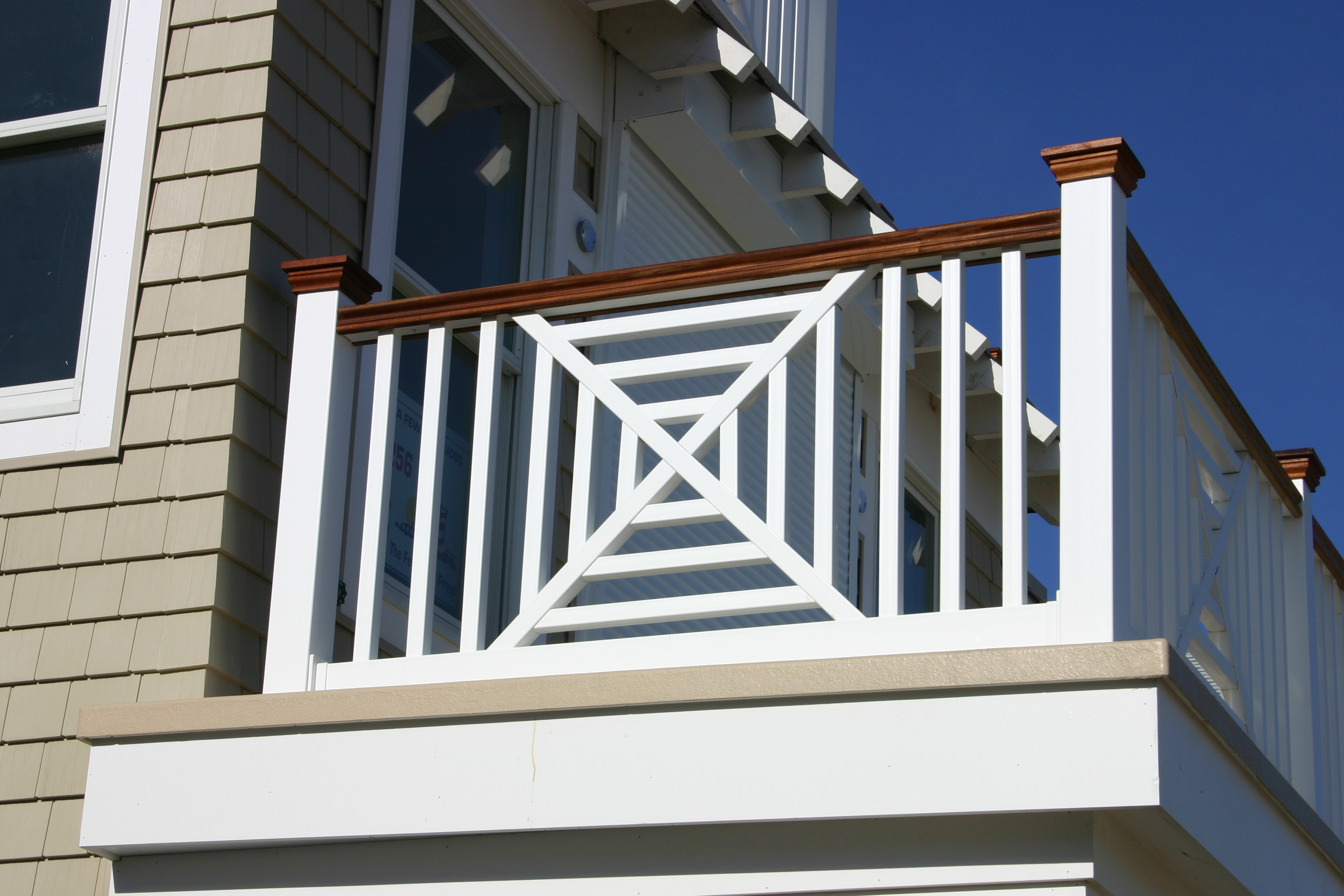 Phoenix PVC Railings Designer Series