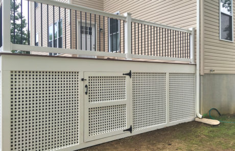 Phoenix Latticework Deck Skirting