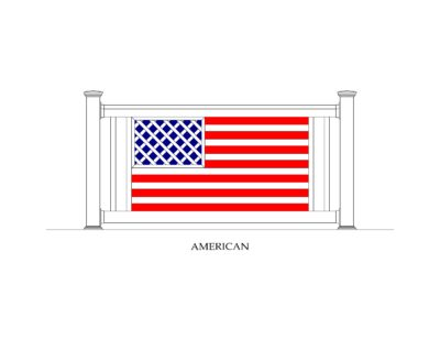 Phoenix Manufacturing Specialty Panels - American Flag