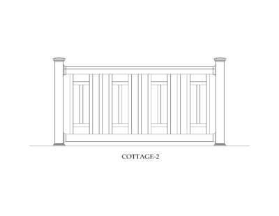Phoenix Manufacturing Specialty Railing Designs - Cottage 2