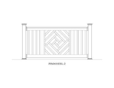 Phoenix Manufacturing Specialty Panels - Pinwheel 2