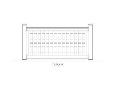 Phoenix Manufacturing Specialty Railing Designs - Trellis