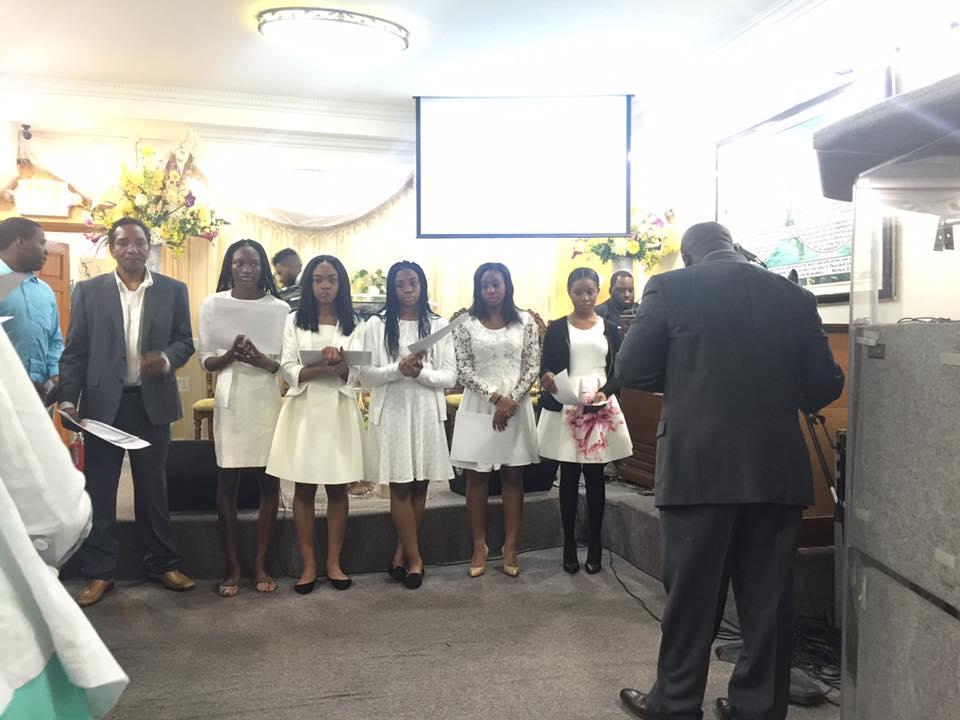 Apostolic Youth Baptism