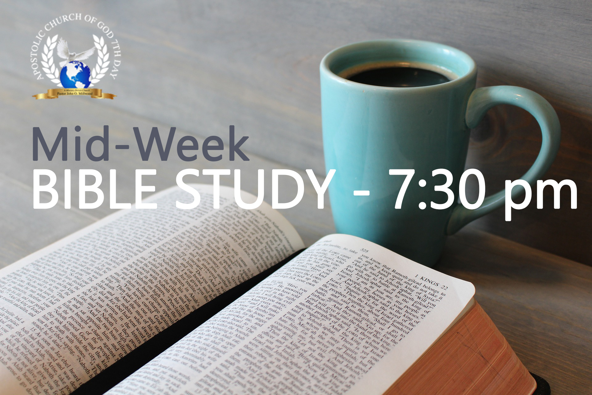 Mid-Week Bible Study