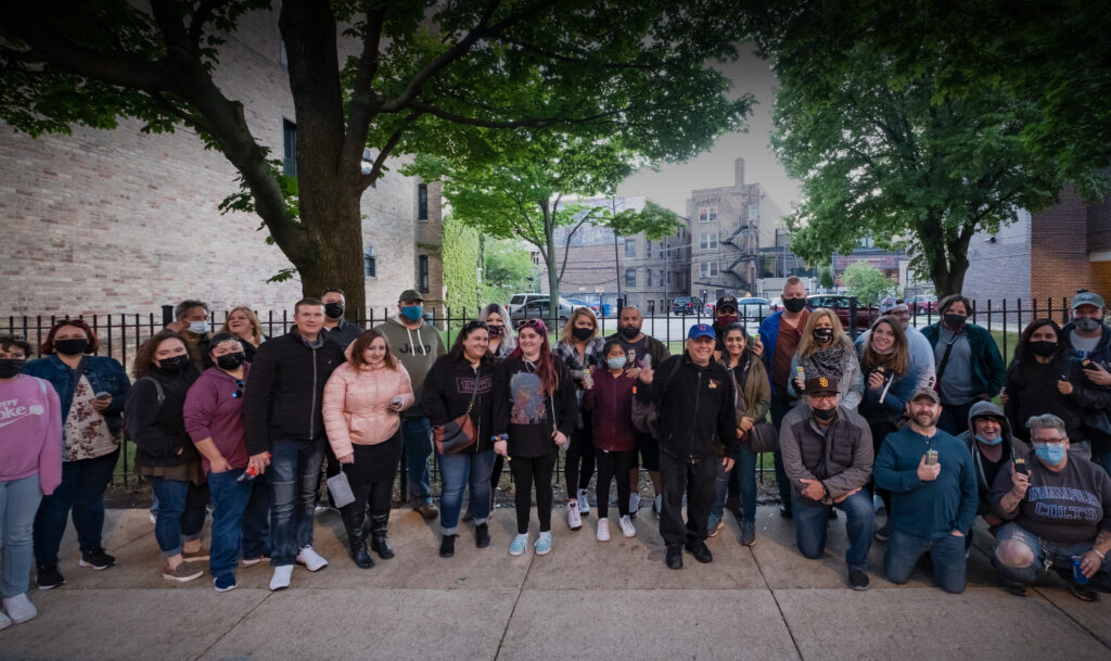Chicago Hauntings Ghost Bus Tour Group