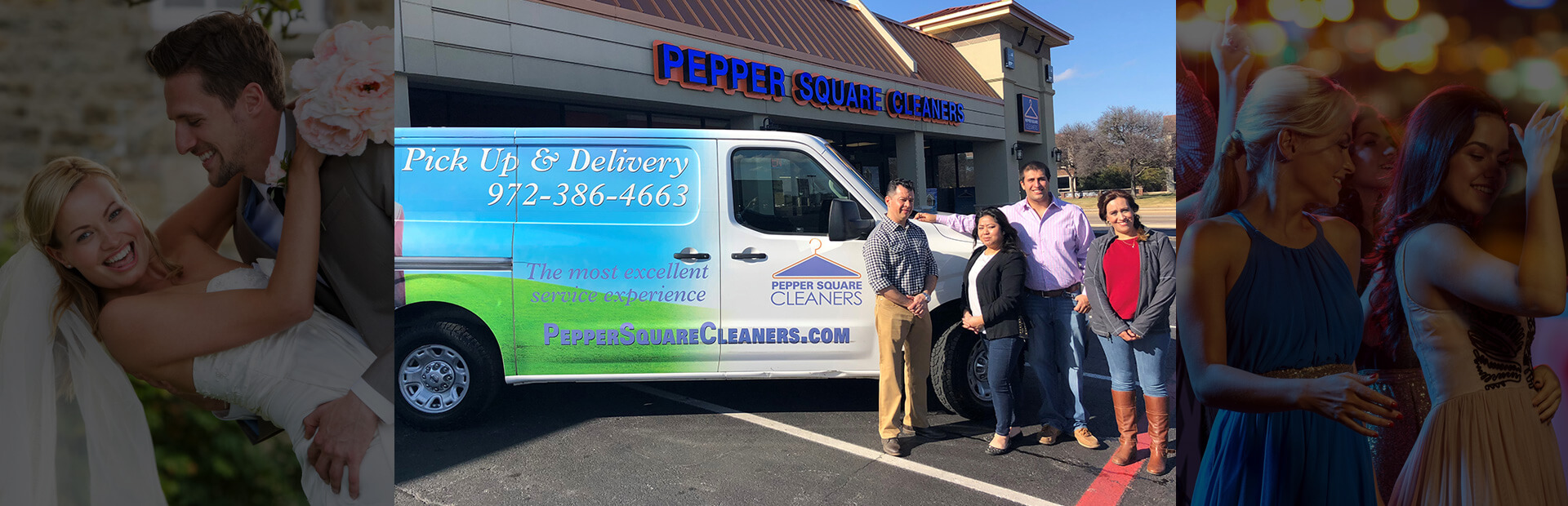 Dry Clean Pickup and Delivery - Dallas, Texas