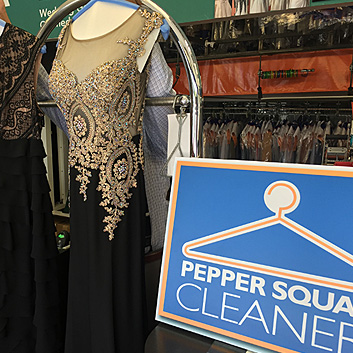 Dry Cleaned Gowns and Formal Wear