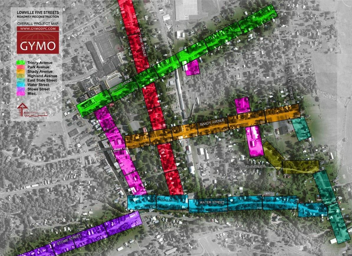 Five Streets Revitalization