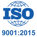 Image to describe logo of ISO 9001:2015 Certification stamp