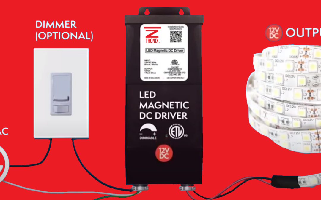 Custom Magnetic Lighting Drivers Available at Z-Tronix