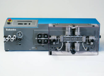image to display eubanks custom cable assembly cut and strip machine