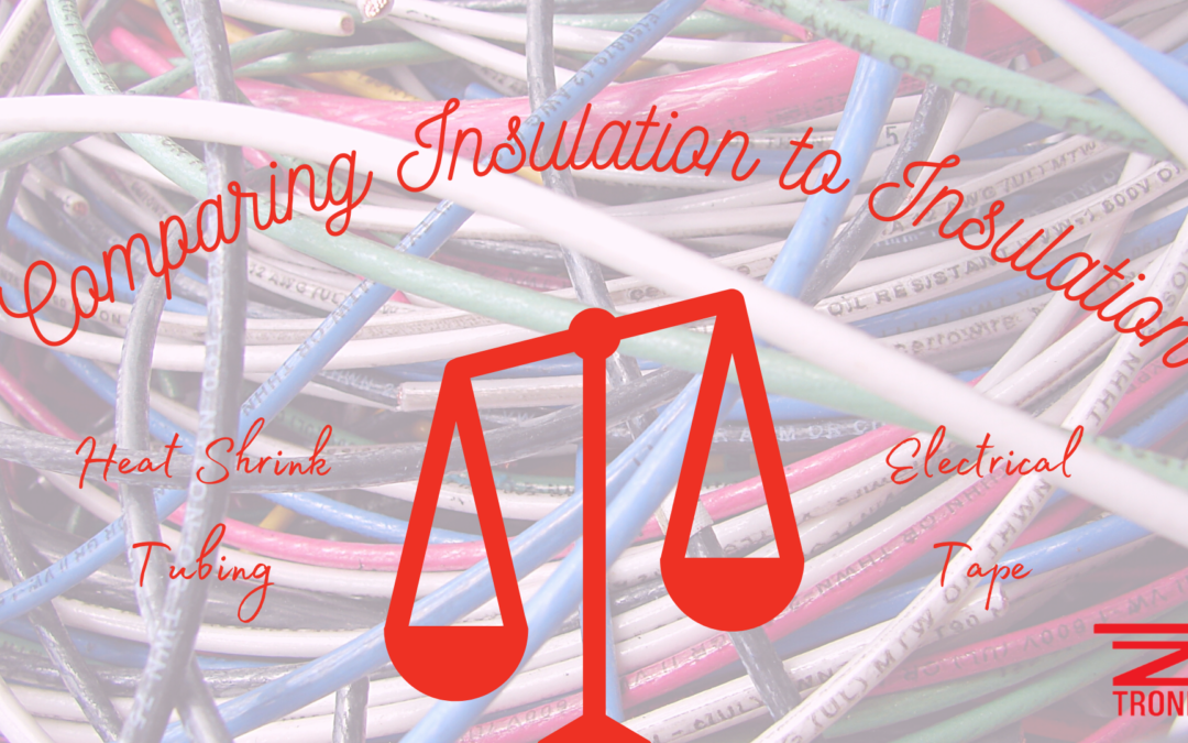 Comparing Insulation to Insulation: Heat Shrink Tubing to Electrical Tape