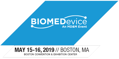 biomedevice boston 2019 logo