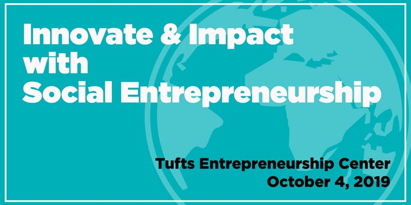 Tufts social entrepreneurship founder's workshop