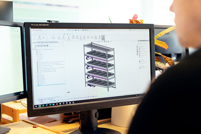 product design using CAD