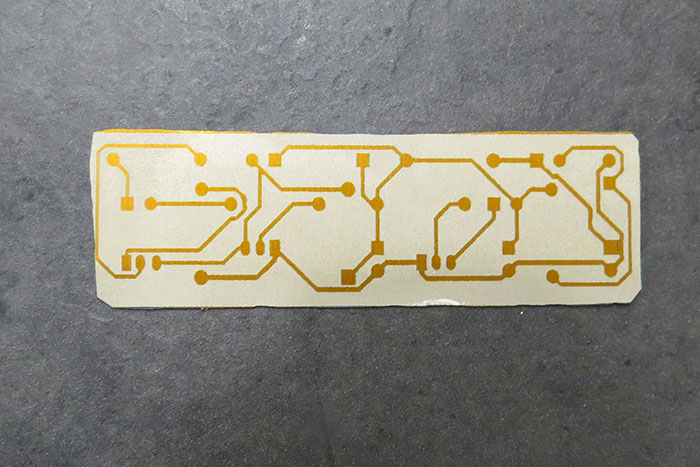completed pcb board prototype