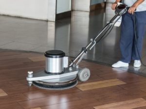 commercial floor buff and wax | commercial floor strip and wax | Big Red's Guaranteed Clean