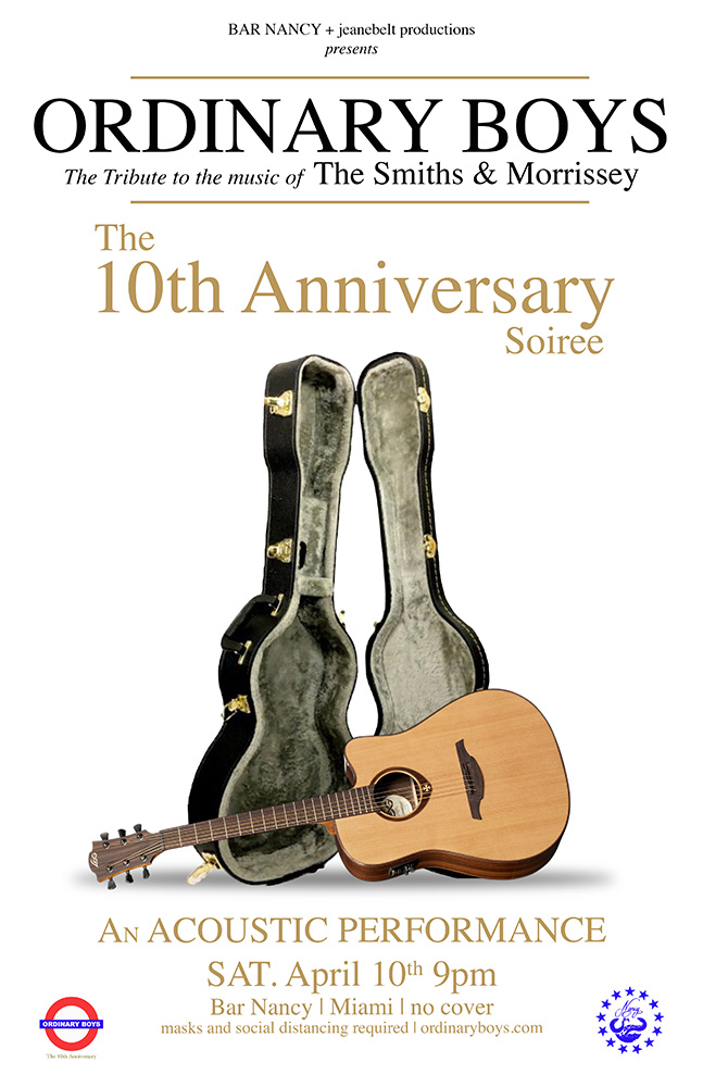 Ordinary Boys - The 10th Anniversary Soiree - Acoustic performance at Bar Nancy