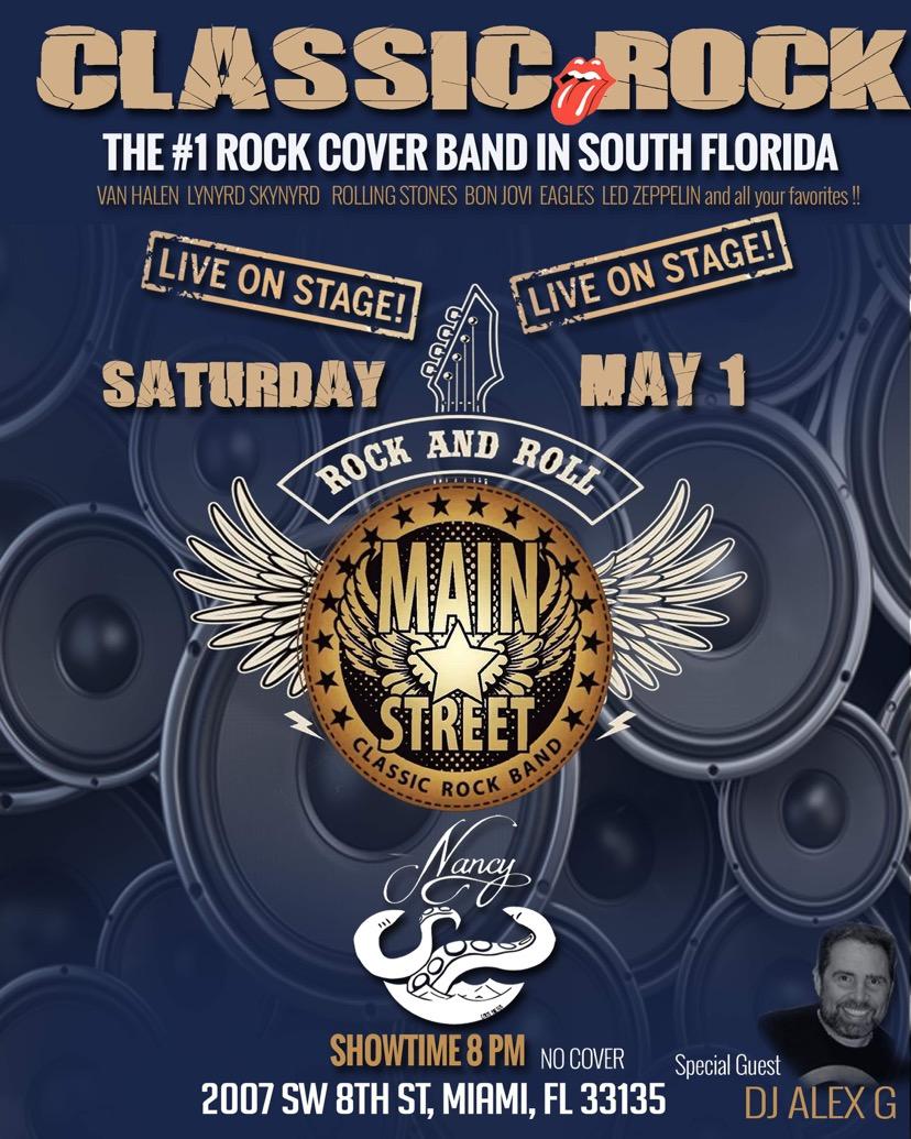 Main Street - Classic Rock at Bar Nancy