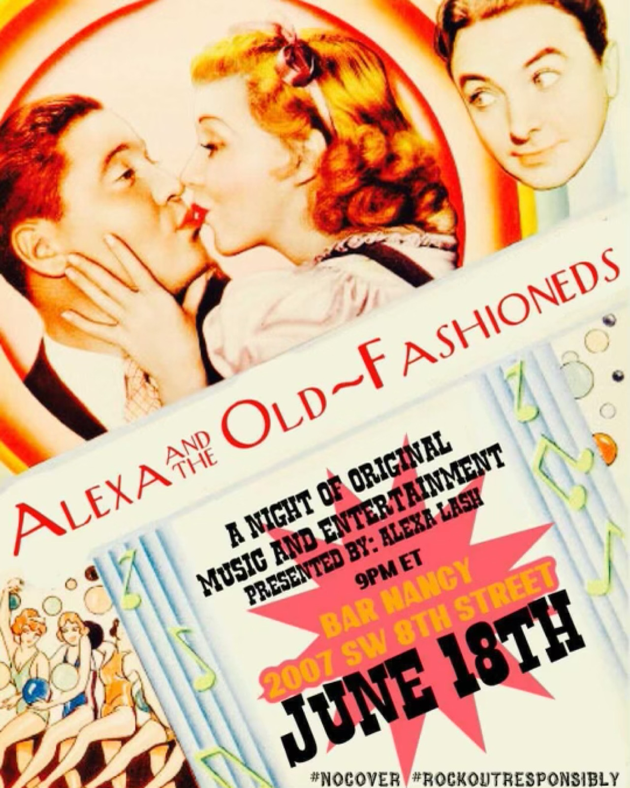 Alexa and the Old Fashioneds at Bar Nancy - June 18th