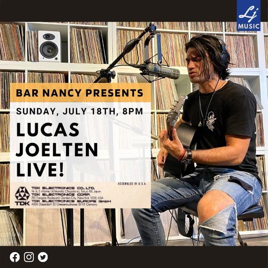 Lucas Joelten Live at Bar Nancy