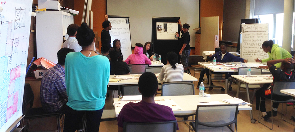 Oakland Youth Architecture Camp Critique