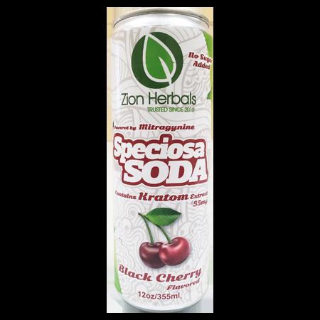 Zion Herbals Speciosa Soda Black Cherry